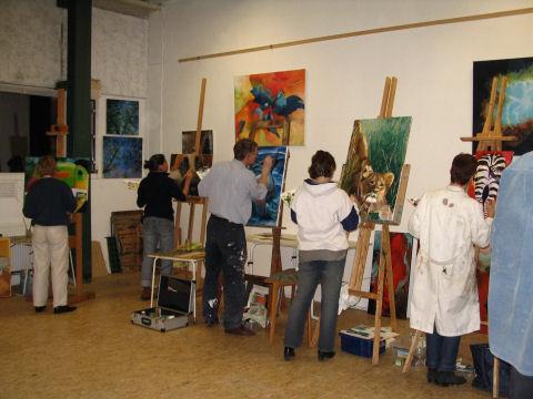 Cursus schilderen met olieverf